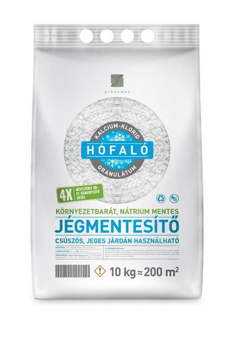 HÓFALÓ Kalcium-klorid 77%-os granulátum (CC ROAD) 10 kg.
