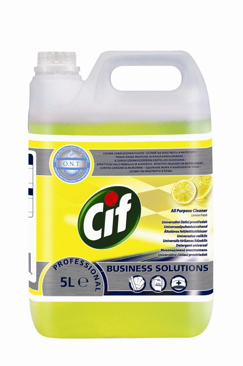 CIF Prof. APC Lemon Fresh általános felülettisztítószer 5 liter